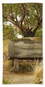 Secluded Bench Beach Towel
