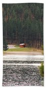 Secluded Cabin Beach Towel