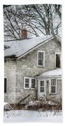 Secluded Old House Beach Towel