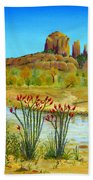 Sedona Arizona Beach Towel by Jerome Stumphauzer