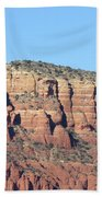 Sedona  Arizona  Mountain  Three Beach Towel