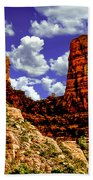 Sedona Arizona Red Rock Secret Mountain Wilderness Beach Towel