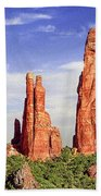 Sedona Red Rock Cathedral Rock State Park Beach Towel