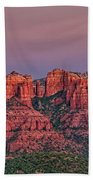 Sedona Sunset Beach Towel