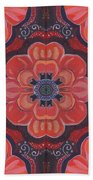 Seduction In Red 1 - The Joy Of Design X X V Arrangement Beach Towel