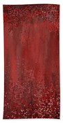 Seductive Embrace- Marsala Art Beach Towel