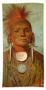 See Non Ty A An Iowa Medicine Man Beach Towel