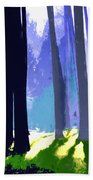 See The Forest For The Trees Beach Towel