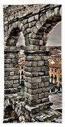 Segovia Aqueduct - Spain Beach Towel