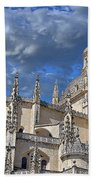 Segovia Gothic Cathedral Beach Towel by Ivy Ho