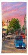 Seine Sunset Beach Towel