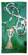 Self-esteem Necklace With Offerings Goddess Pendant Beach Towel