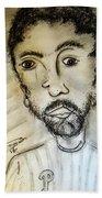 Self-portrait #2 Beach Towel