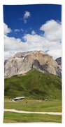 Sella Group. Italian Dolomites Beach Towel