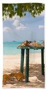 Selling Shells Beach Towel
