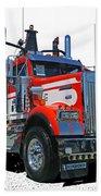 Semi Trucks Catr3120-13 Beach Towel