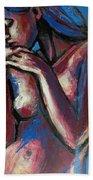 Sentimental Mood- Female Nude Beach Towel