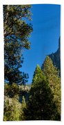 Sentinel Dome, Yosemite Np Beach Towel