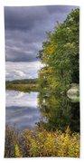 September Storm Clouds Beach Towel