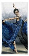 Sequential Dancer Beach Towel