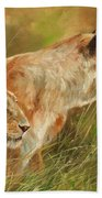 Serengeti Sisters Beach Towel