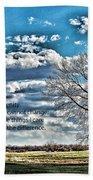 Serenity Prayer Beach Sheet