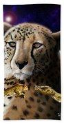 First In The Big Cat Series - Cheetah Beach Towel