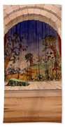 Set Design For Hamlet By William Beach Towel