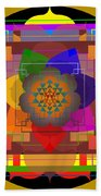 Seven Rays Of Healing 2013 Beach Towel