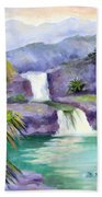 Seven Sacred Pools Beach Towel