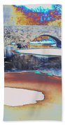 Sgt Peppers Lonely Hearts Club Bridge Beach Towel