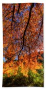 Shades Of Autumn Beach Towel