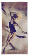 Shadow Dance Beach Towel