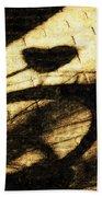 Shadow Heart Tinted Copper Beach Towel