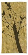 Shadow Of The Triffids Beach Towel