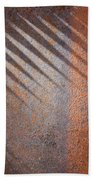Shadows And Rust Beach Towel