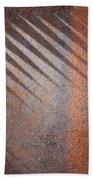 Shadows And Rust Beach Sheet