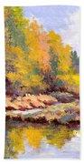 Shadowy Creek Beach Towel