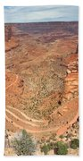 Shafer Trail Beach Towel by Adam Romanowicz