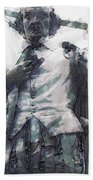 Shakespeare In Central Park Beach Towel