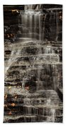 Shale Waterfalls Cascade Beach Towel