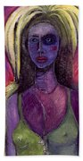 Shaman Woman Beach Towel