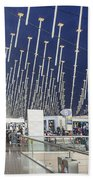 Shanghai Pudong Airport In China Beach Towel
