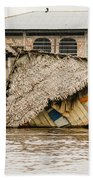 Shanty Town Disaster Beach Towel