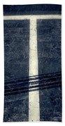 Shape No.35 Gray Scale Beach Towel