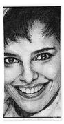 Shari Belafonte In 1985 Beach Sheet