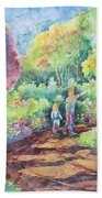 Sharing The Journey Beach Towel