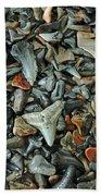 Sharks Teeth 2 Beach Towel