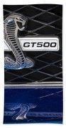 Shelby Gt 500 Beach Towel