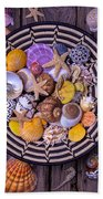 Shell Collecting Beach Towel